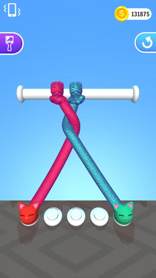 百變繩結3D游戲截圖