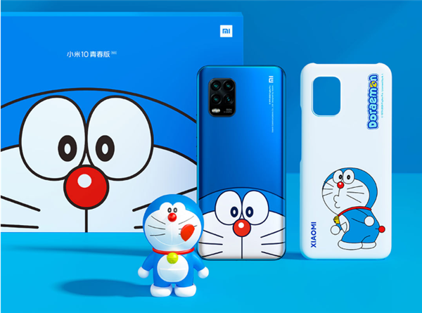 小米10青春版哆啦A梦限定版即将开售_售价2799元起
