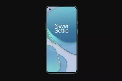 一加8T Pro手机疑似曝光:完整屏幕是全面屏?