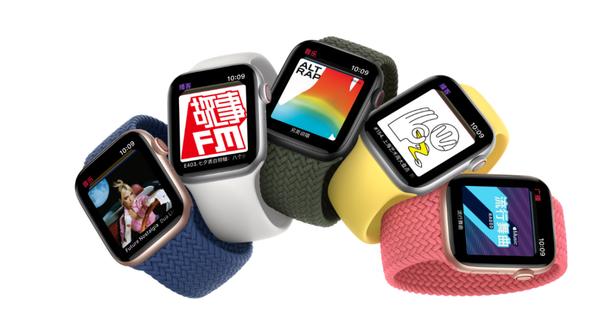 Apple Watch Series 6、SE已发布:血氧检测功能上线