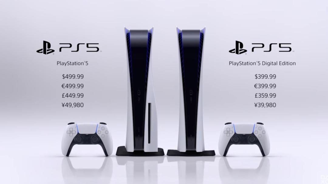 ps5发售日期及价格:最早于11月12日开售,起售价为2700元