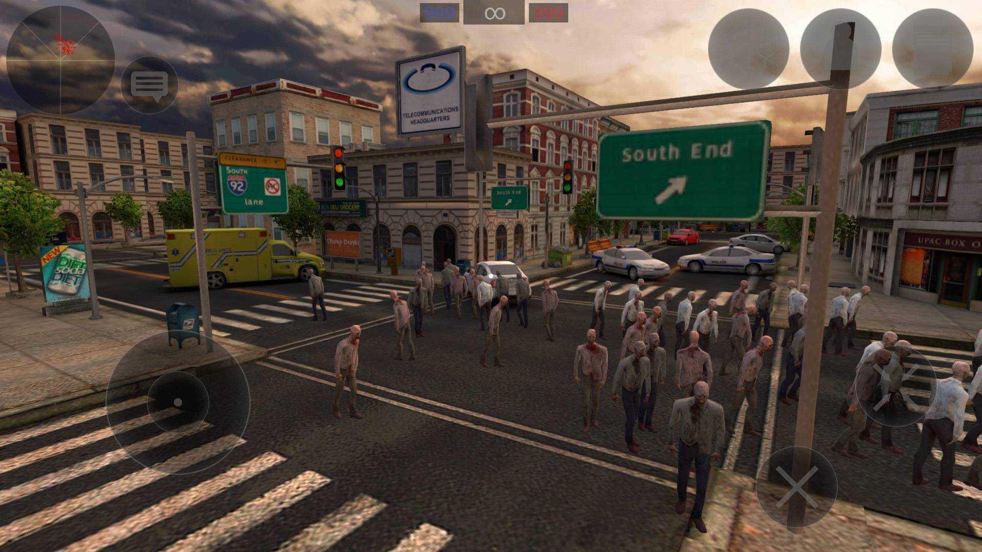 僵尸作战模拟无限子弹版截图
