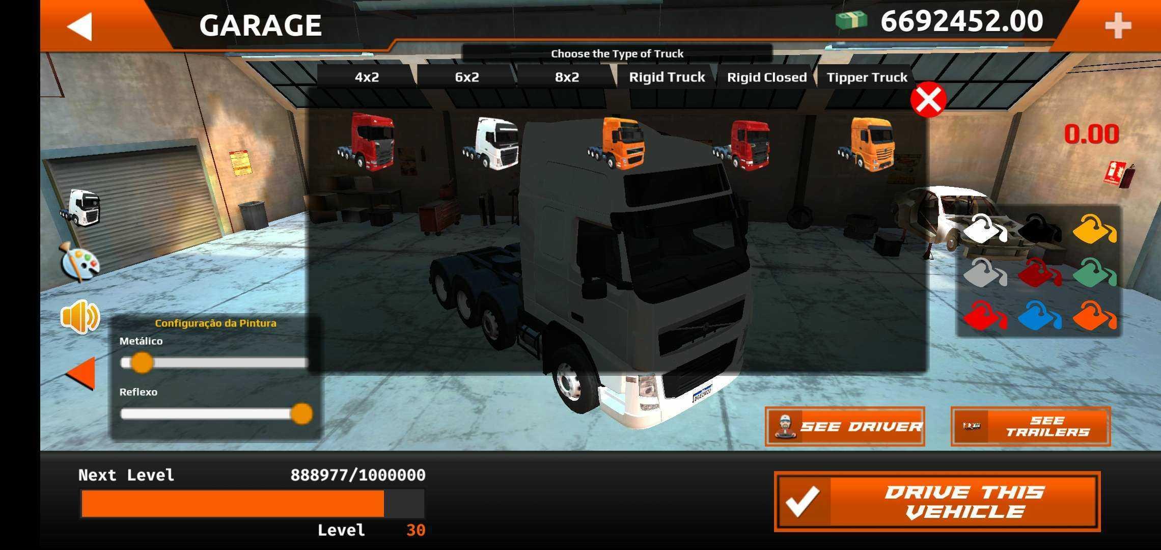 世界卡车模拟全车破解版截图
