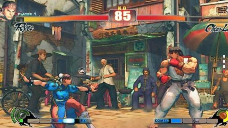 街头霸王3未来战斗破解版游戏截图